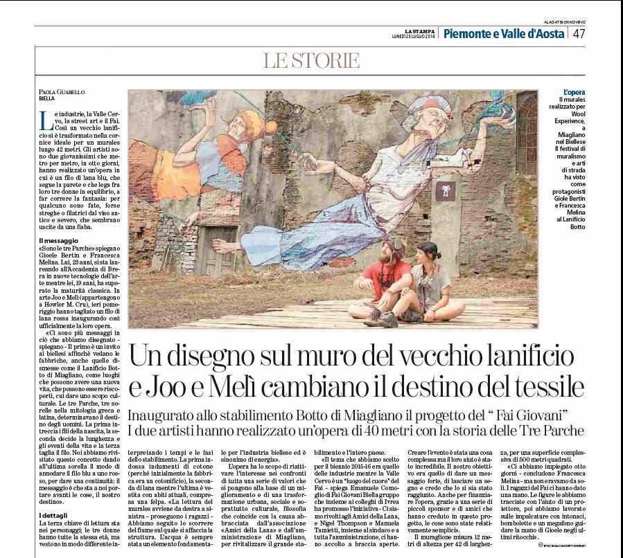 murales Miagliano - LaStampa25072016